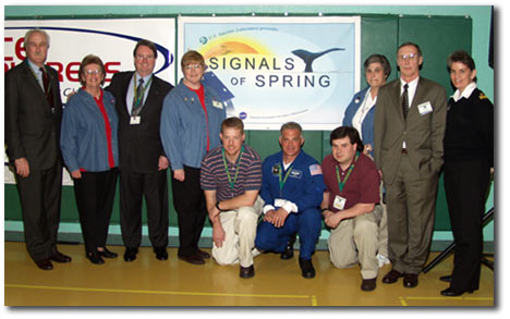 NASA Explorer School Learning with Signals of Spring